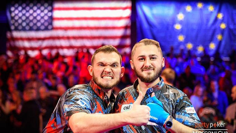 Team USA  won the second day of play in Las Vegas to lock the  score at 5-5 (Credit: JP Parmentier/Matchroom Multi Sport)