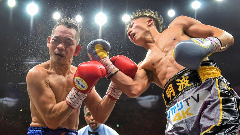 Inoue and Donaire shared exciting exchanges in the later rounds
