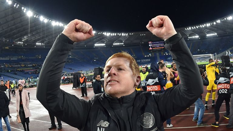 Neil Lennon has guided Celtic to the knockout stages
