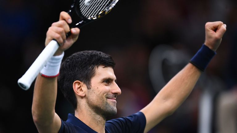 Djokovic heads to ATP Finals looking to end year as No 1