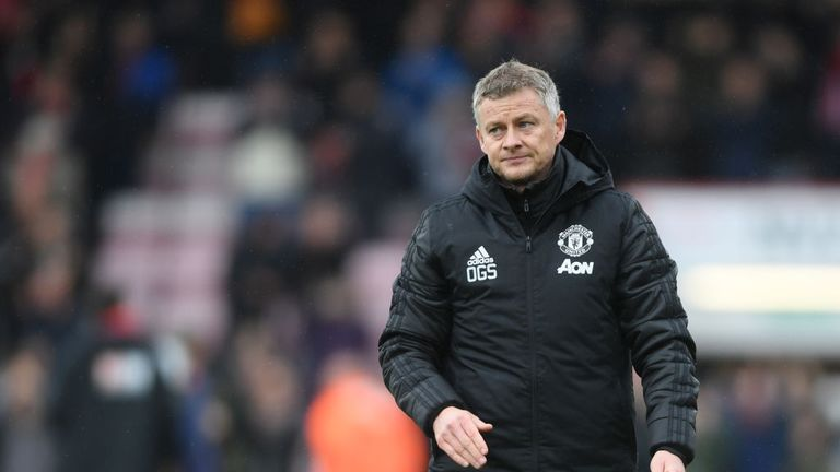 Ole Gunnar Solskjaer has managed just three wins for United in the league this term