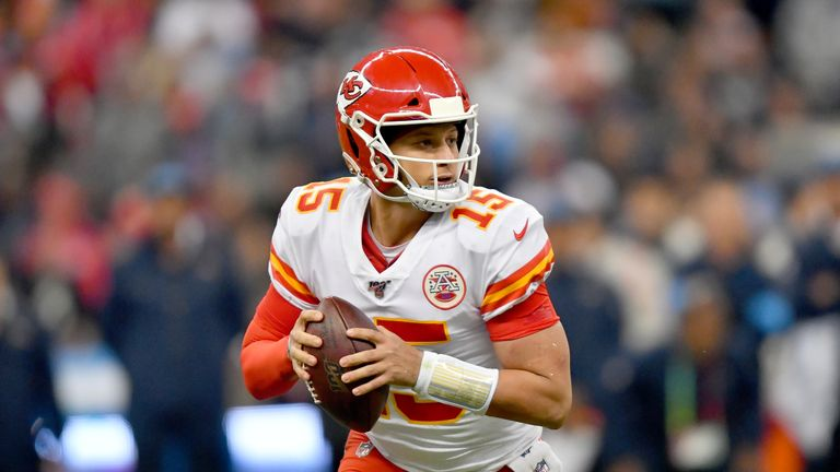 Kansas City Chiefs quarterback Patrick Mahomes has not matched last season's MVP campaign - but that is partly due to an injury