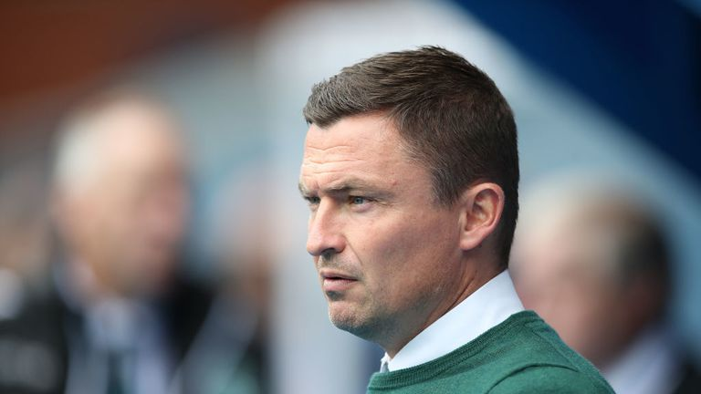 Paul Heckingbottom was sacked by Hibs on Monday