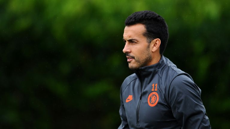 Pedro has struggled for minutes this season under Lampard