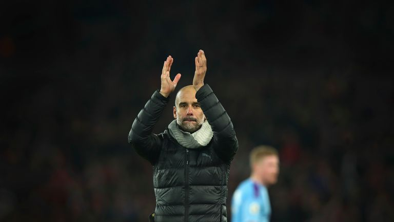 Pep Guardiola hand-signed some of the letters which were sent to fans