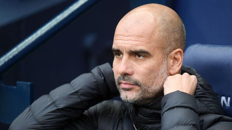 Pep Guardiola says he is happy in England but is interested in a move to Italy