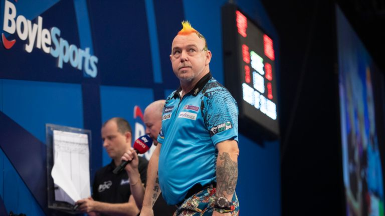 Peter Wright fell to his ninth defeat in ten PDC major finals