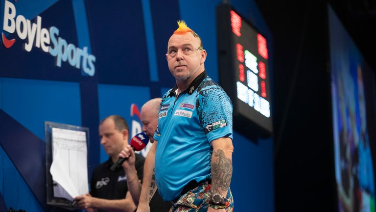 Peter Wright was unable to match the brilliance of Price in Wolverhampton