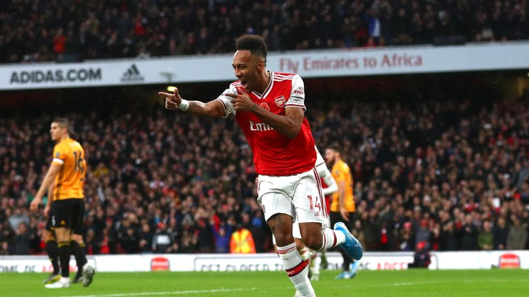 Pierre-Emerick Aubameyang has enjoyed another eye-catching year in front of goal