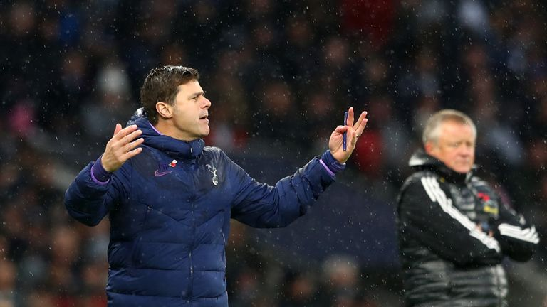 Pochettino had become increasingly frustrated with life at Tottenham