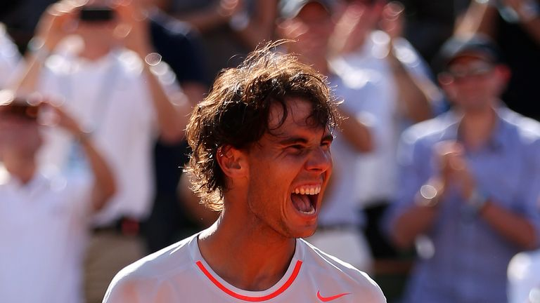 Nadal defeated countryman David Ferrer in the 2013 French Open final after beating Novak Djokovic in an epic semi-final