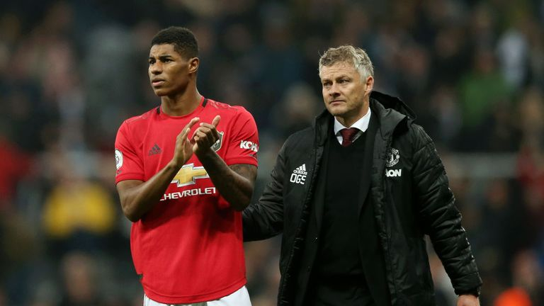 Solskjaer and his players will be looking to extend United's good form at the Etihad - they have lost on just one of their last four visits