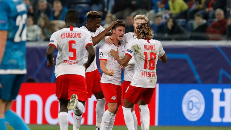 Diego Demme scored RB Leipzig's opener