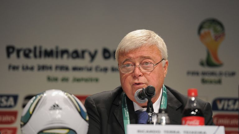 Ricardo Teixeira was president of the Brazilian football federation for 23 years