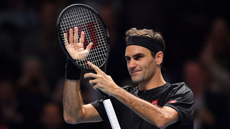 Federer is through to the semi-finals of the ATP Finals