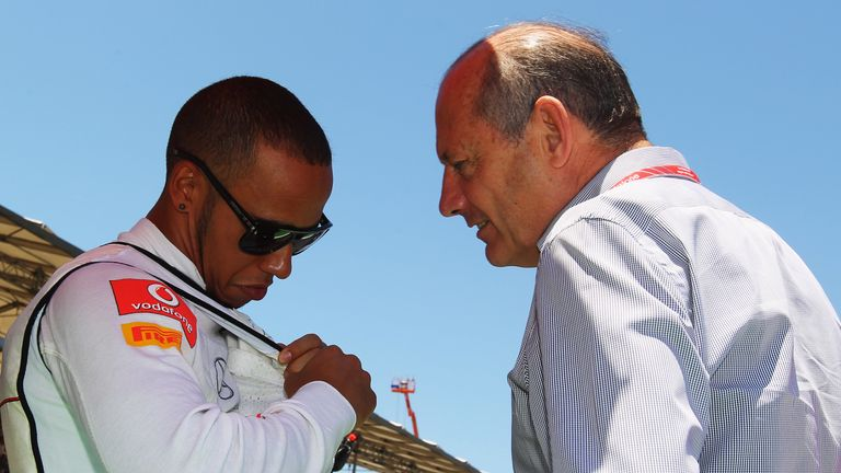 Former McLaren chief Ron Dennis says six-time F1 world champion Lewis Hamilton will 'never forget' the help and support he received on his route to the top.