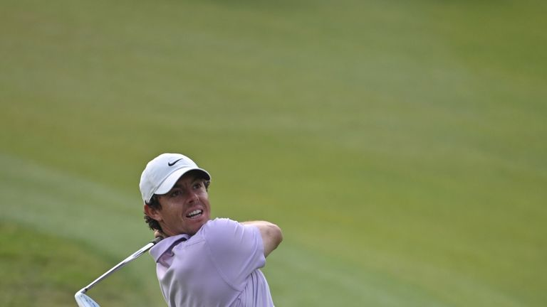 McIlroy a shot off the lead after shining in Shanghai