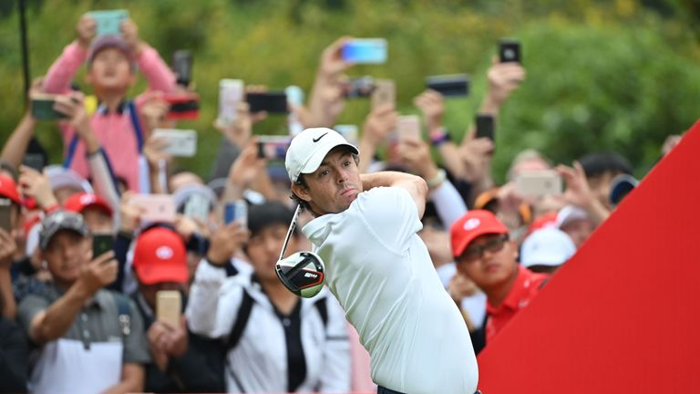 Rory McIlroy was second in the PGA Tour driving distance stats last season, averaging over 313 yards off the tee