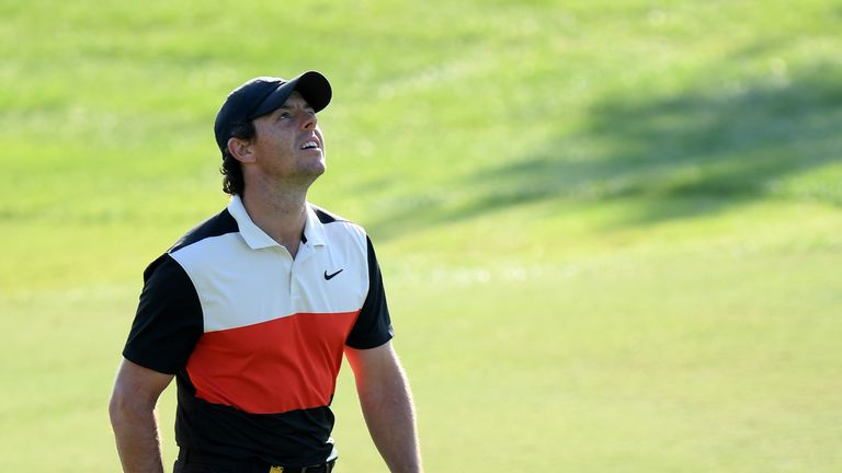 McIlroy vowed to bounce back over the weekend