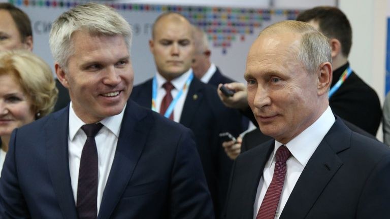 Sports minister Pavel Kolobkov has expressed concern about the emergency situation