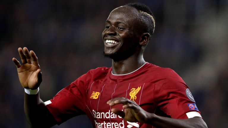 Sadio Mane continues to impress for Liverpool this season