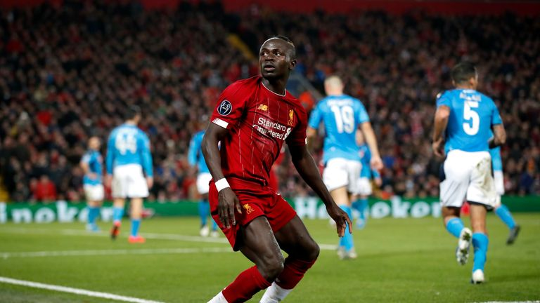 Liverpool were held to a 1-1 draw against Napoli last time out