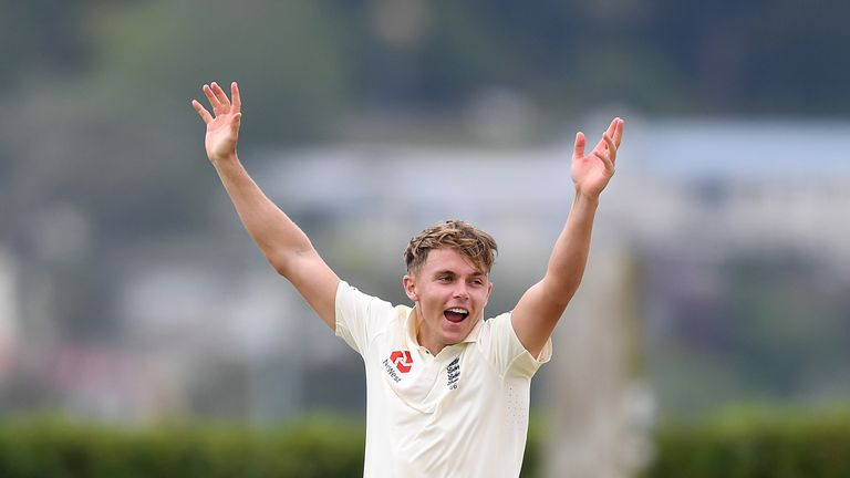 Sam Curran picked up three wickets in New Zealand A's second innings
