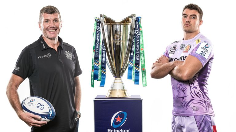 Exeter Chiefs are the favourites to progress from Pool 2