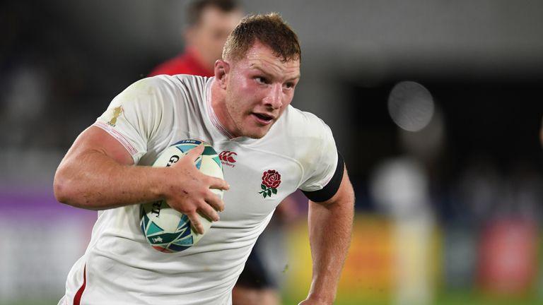 Underhill tenía solo siete años cuando Inglaterra ganó la Copa Mundial de Rugby en 2003