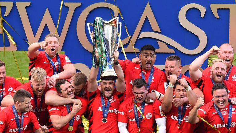 Saracens claimed a Premiership and Champions Cup double last season
