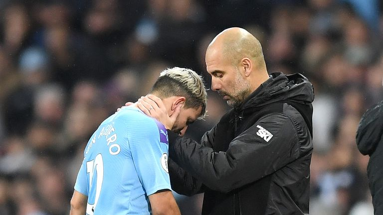 Injuries to players like Aguero are hurting Manchester City, according to Merson
