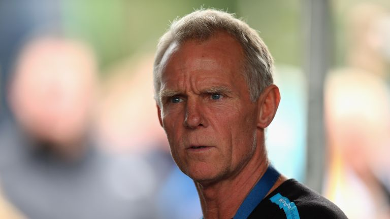 Shane Sutton stormed out of the trial on Tuesday after taking exception to questioning