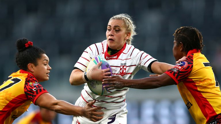 England were denied by late try against Papua New Guinea