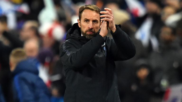 England manager Gareth Southgate was delighted with his side's big win over Montenegro