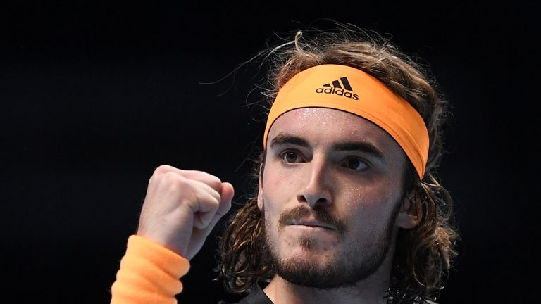 Stefanos Tsitsipas stunned six-time ATP Finals champion Roger Federer to reach the biggest final of his career