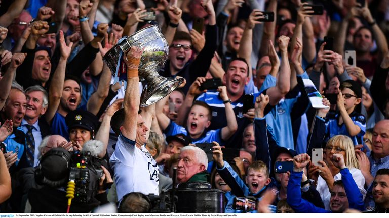 The Parnells man captained Dublin to an unprecedented five-in-a-row
