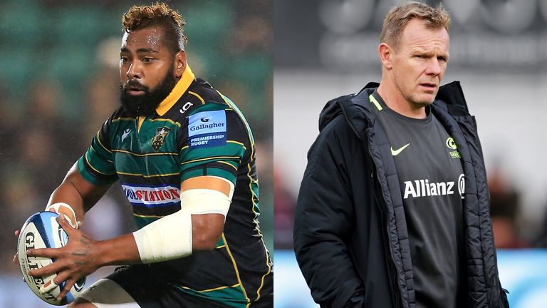 Premiership leaders Northampton and in-the-news Saracens are the headlines ahead of the weekend's fixtures