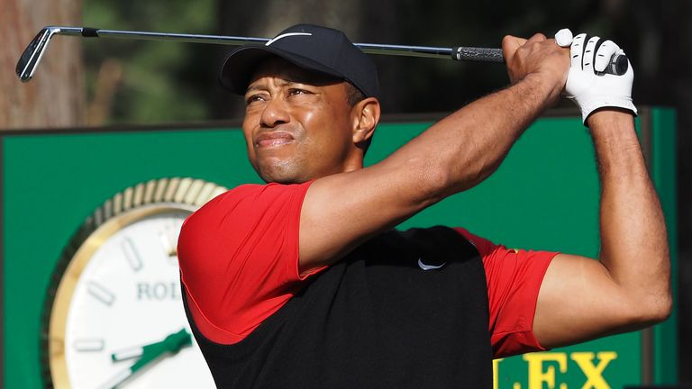 U.S.  captain Woods chooses Woods to play in Presidents Cup