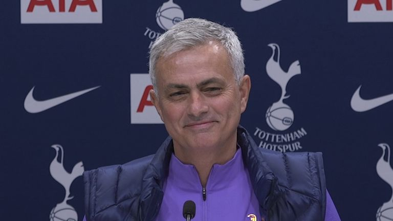 Jose Mourinho took over from Pochettino at White Hart Lane following his dismissal