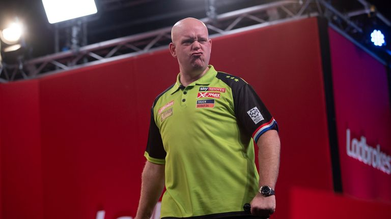 Van Gerwen's triumph marks his 50th individual PDC televised title