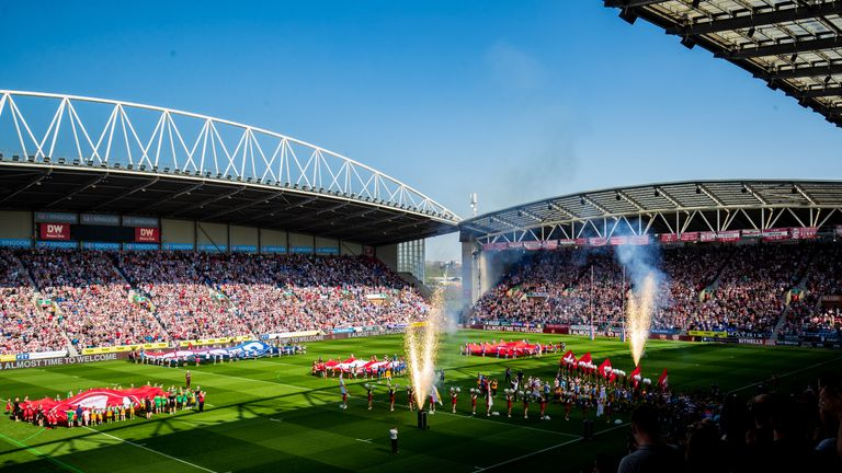 Super League clubs will each play one fixture over the 2020 Easter weekend