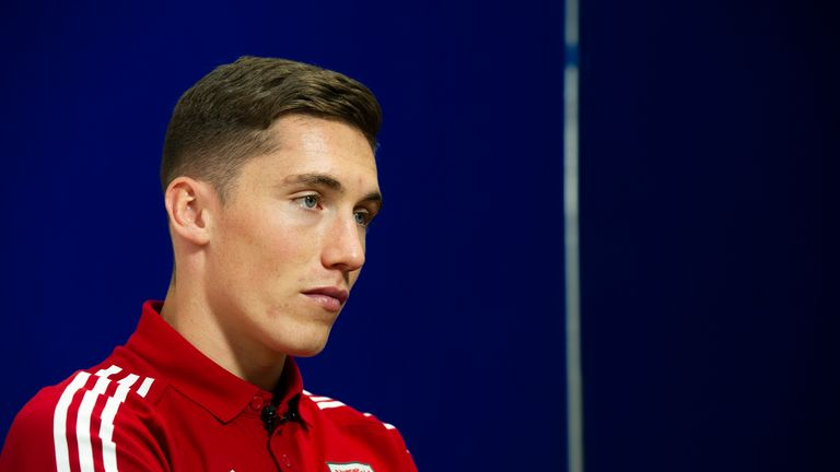 Harry Wilson would win his 16th cap if he plays against Azerbaijan on Saturday
