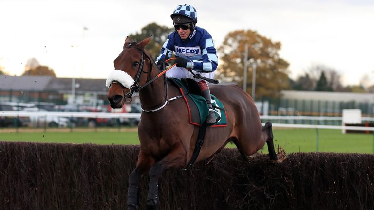 Thomas Darby on his chasing debut at Warwick