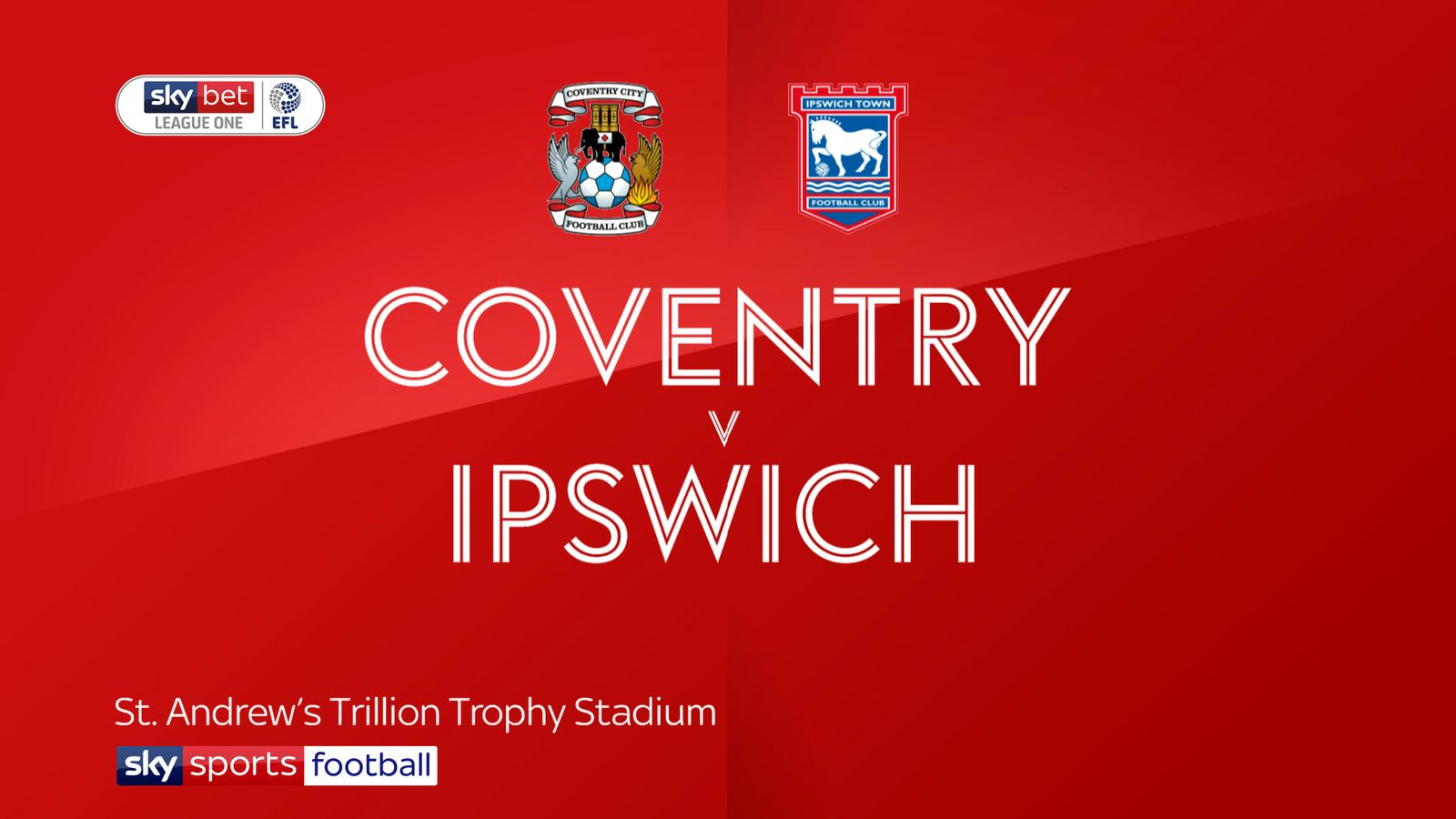 Coventry 1-1 Ipswich: Tractor Boys fail to close gap on leaders Wycombe