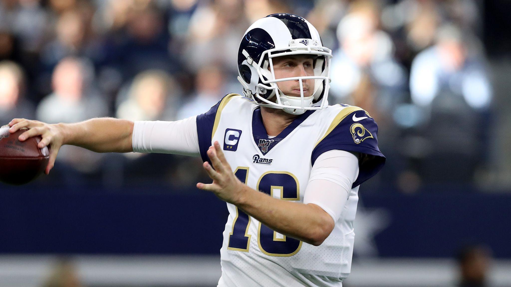 Los Angeles Rams 21-44 Dallas Cowboys: Ezekiel Elliott runs in two scores in convincing Cowboys win