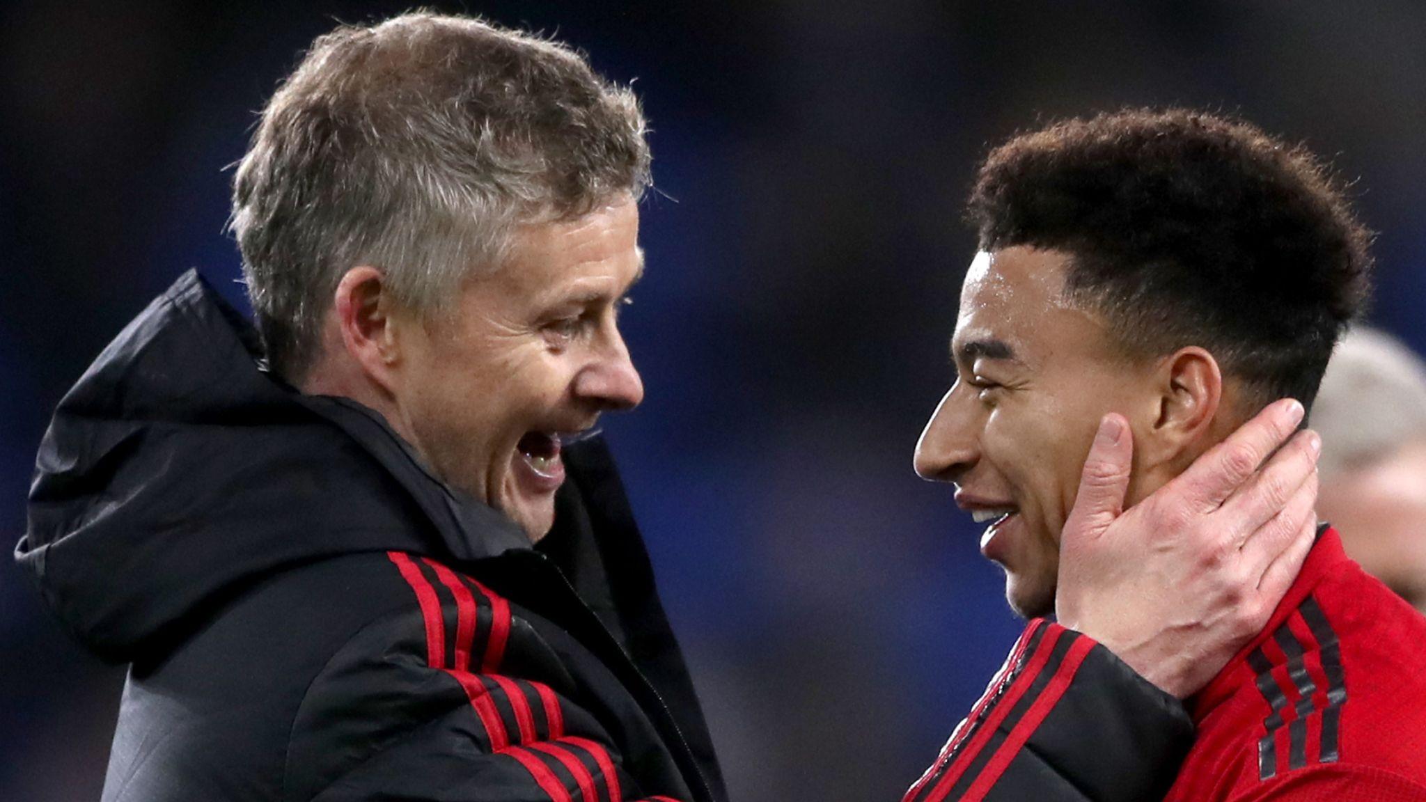 Jesse Lingard reveals Ole Gunnar Solskjaer heart-to-heart at Manchester United