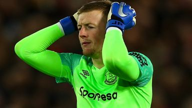 fifa live scores - Jordan Pickford says Everton emotions were on 'a different scale' after Anfield howler
