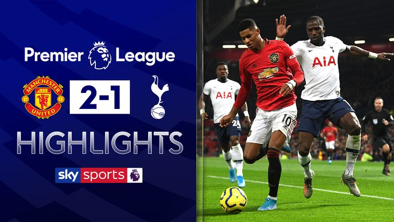 FREE TO WATCH: Highlights from Manchester Utd's victory over Tottenham in the Premier League