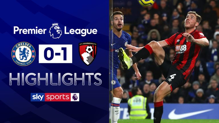 FREE TO WATCH: Highlights from Bournemouth's win at Chelsea in the Premier League