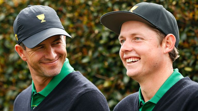 Adam Scott and Cameron Smith feature on home soil at the Australian PGA Championship